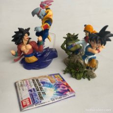 Figuras y Muñecos Manga: LOTE 2 FIGURAS DIORAMAS GASHAPON DRAGON BALL GT IMAGINATION FIGURE BANDAI PAN-SUPER SAIYAN 4-BABY. Lote 269291373