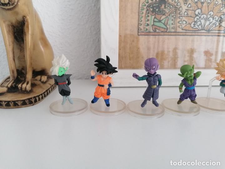 Figuras y Muñecos Manga: Dragon ball super colección de 10 figuras con sus peanas bandai - Foto 2 - 272954758