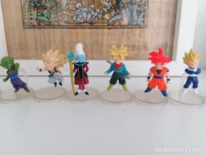 Figuras y Muñecos Manga: Dragon ball super colección de 10 figuras con sus peanas bandai - Foto 3 - 272954758