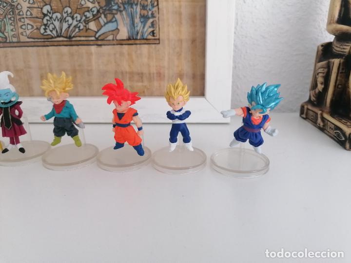 Figuras y Muñecos Manga: Dragon ball super colección de 10 figuras con sus peanas bandai - Foto 4 - 272954758