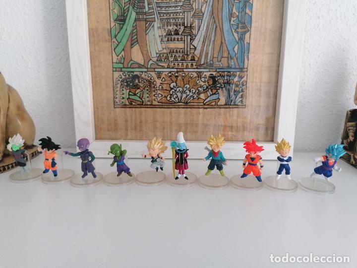 DRAGON BALL SUPER COLECCIÓN DE 10 FIGURAS CON SUS PEANAS BANDAI (Juguetes - Figuras de Acción - Manga y Anime)