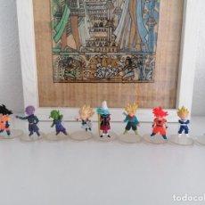 Figuras y Muñecos Manga: DRAGON BALL SUPER COLECCIÓN DE 10 FIGURAS CON SUS PEANAS BANDAI. Lote 272954758