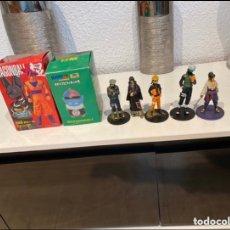 Figuras y Muñecos Manga: LOTE DE 5 FIGURAS DRAGON BALL CON DOS CAJA PARA COLECCIONAR. VER FOTOS. Lote 275881073