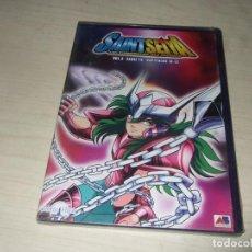Figuras y Muñecos Manga: DVD SAINT SEIYA LOS CABALLEROS DEL ZODIACO - VOL. 4 - SERIE TV - CAPITULOS 10-12. Lote 276419378