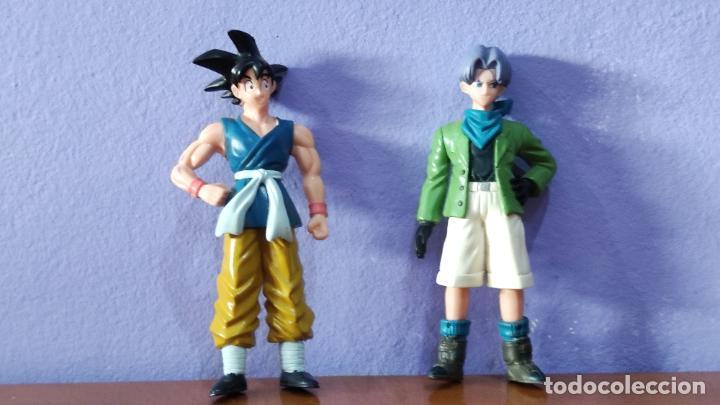 Figuras y Muñecos Manga: Figuras Dragon Ball, Gashapon y Trunks - Foto 4 - 218873181