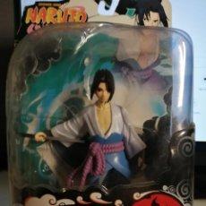 Figuras y Muñecos Manga: FIGURA SASUKE -NARUTO SHIPPUDEN SERIE 3 TOYNAMI. Lote 277027968