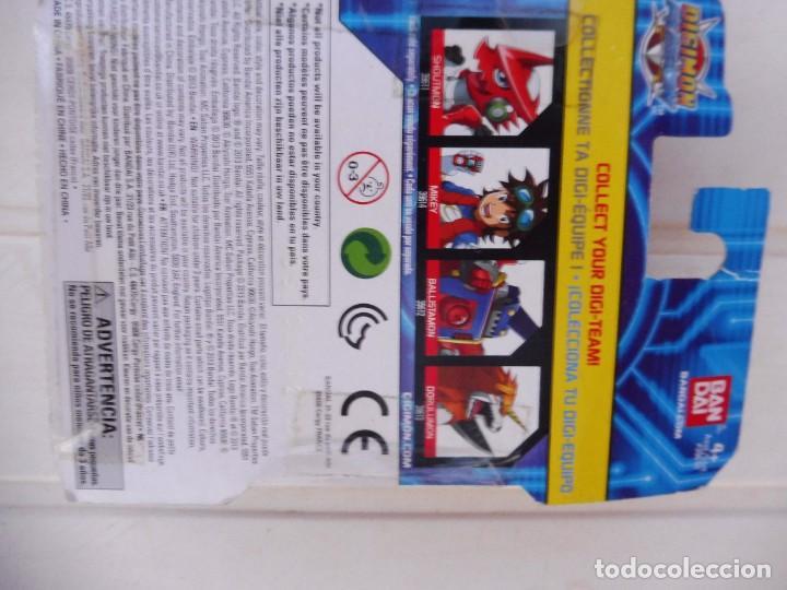 Figuras y Muñecos Manga: Digimon fusion Ballistamon bandai 2013 en blister - Foto 8 - 277083653