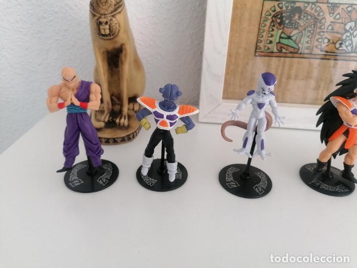 Figuras y Muñecos Manga: Dragon ball Z Bandai lote de 8 figuras con sus peanas - Foto 2 - 277248593
