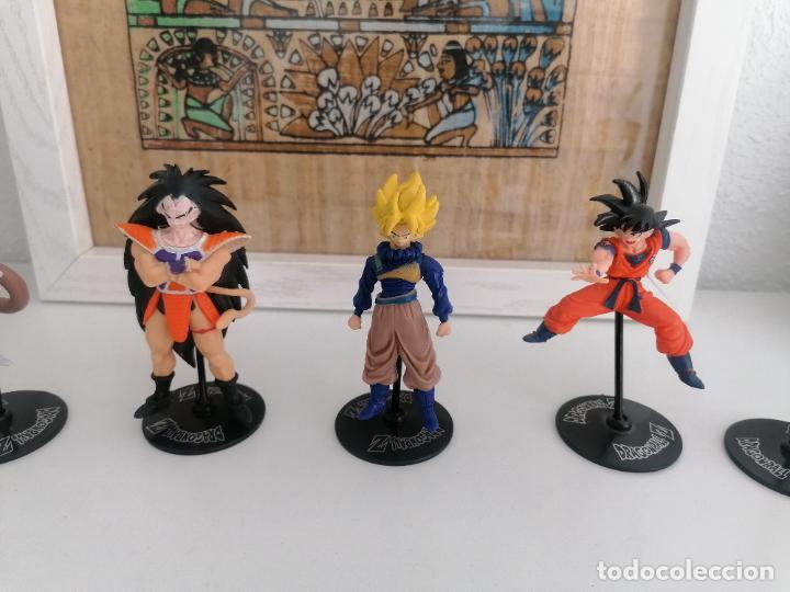 Figuras y Muñecos Manga: Dragon ball Z Bandai lote de 8 figuras con sus peanas - Foto 3 - 277248593