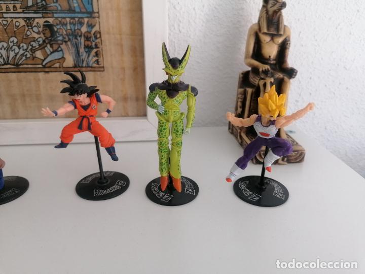 Figuras y Muñecos Manga: Dragon ball Z Bandai lote de 8 figuras con sus peanas - Foto 4 - 277248593