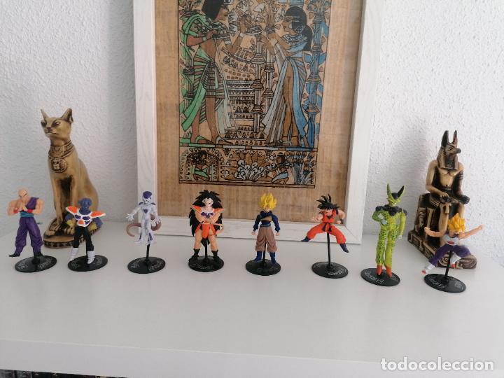 DRAGON BALL Z BANDAI LOTE DE 8 FIGURAS CON SUS PEANAS (Juguetes - Figuras de Acción - Manga y Anime)