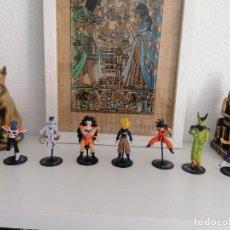 Figuras y Muñecos Manga: DRAGON BALL Z BANDAI LOTE DE 8 FIGURAS CON SUS PEANAS. Lote 277248593