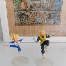 Figuras y Muñecos Manga: DRAGON BALL Z BANDAI 2 FIGURAS CON PEANA. Lote 277252113