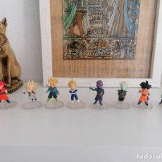 Figuras y Muñecos Manga: DRAGON BALL SUPER BANDAI 8 FIGURAS CON PEANA. Lote 277252683
