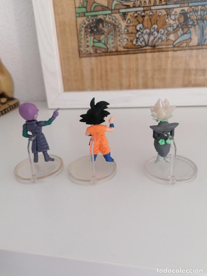 Figuras y Muñecos Manga: Dragon ball super Bandai 3 figuras con peana - Foto 2 - 277252853