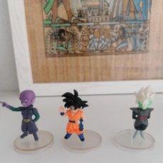 Figuras y Muñecos Manga: DRAGON BALL SUPER BANDAI 3 FIGURAS CON PEANA. Lote 277252853