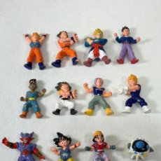 Figuras y Muñecos Manga: LOTE DE 12 MINI FIGURAS DRAGON BALL Z - SIN MARCA - ENTRE 3 Y 4 CM. Lote 277435963