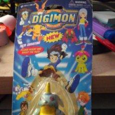 Figuras y Muñecos Manga: BLISTER DIGIMON DIGITAL MONSTERS NEW GABUMON SIN MARCA, MADE IN CHINA. Lote 288986528