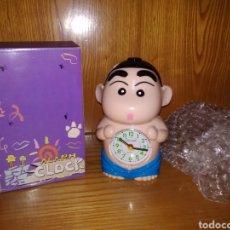 Figuras y Muñecos Manga: SHIN CHAN. RELOJ DESPERTADOR. ALARM CLOCK. A ESTRENAR. CAJA ORIGINAL!!!. Lote 289501288