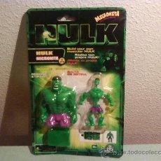 Figuras y Muñecos Marvel: BLISTER HULK ( MICRONITA ) LA SUPER MASA , PRODUCTO DESCATALOGADO DE COLECCION , 2003 .. Lote 22913331
