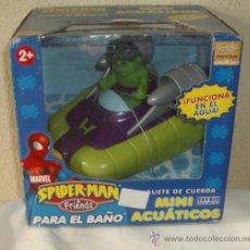 Figuras y Muñecos Marvel: HULK,DE LA SERIE SPIDERMAN&FRIENDS,MARVEL,FAMOSA,2005,CAJA ORIGINAL,A ESTRENAR. Lote 23744438