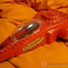 Figuras y Muñecos Marvel: COCHE SPIDERMAN FIGURA AÑO 1990. Lote 26804336