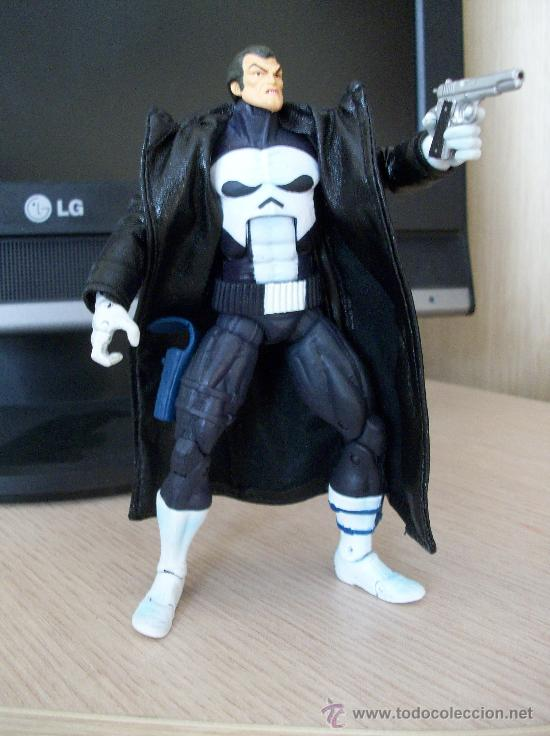 FIGURA MARVEL LEGENDS SERIE FACE OFF EL CASTIGADOR, (THE PUNISHER) (Juguetes - Figuras de Acción - Marvel)