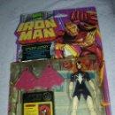 Figuras y Muñecos Marvel: ANTIGUO BLISTER IRON MAN SPIDER WOMAN NUEVO DE TIENDA. Lote 23917615