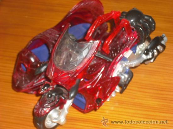 MOTO CON SIDECAR SPIDERMAN (Juguetes - Figuras de Acción - Marvel)