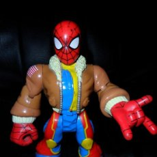 Figuras y Muñecos Marvel: SPIDERMAN & FRIENDS RESCUE HEROES. Lote 24571531