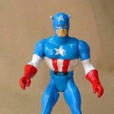 Figuras y Muñecos Marvel: FIGURA DE PLASTICO, CAPITAN AMERICA, MARVEL, 1984, COMICS GROUP. Lote 25917976