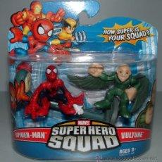Figuras y Muñecos Marvel: FIGURA MARVEL SUPER HERO SQUAD SPIDERMAN FIGURE PACK 2 BUITRE SPIDERMAN LOTE SPIDER MAN. Lote 27782230