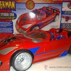 Figuras y Muñecos Marvel: SUPER SPIDERCAR.COCHE GIGANTE CON SU CAJA ORIGINAL DE 42 CM.. Lote 27842289
