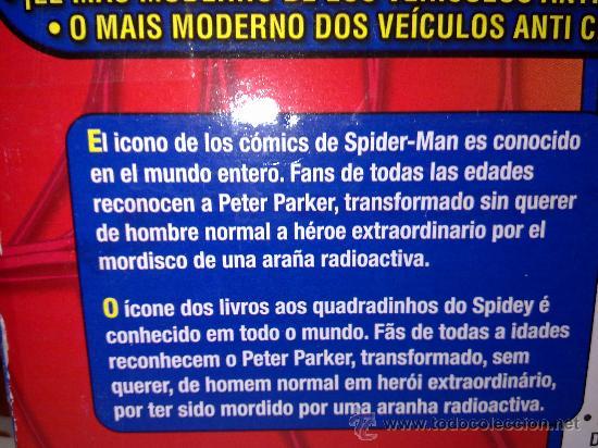 Figuras y Muñecos Marvel: SUPER SPIDERCAR.COCHE GIGANTE CON SU CAJA ORIGINAL de 42 CM. - Foto 7 - 27842289