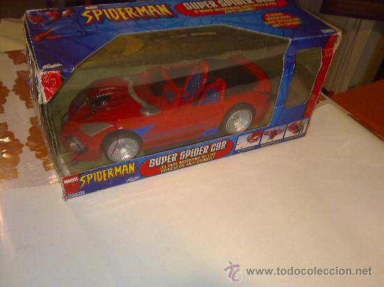 Figuras y Muñecos Marvel: SUPER SPIDERCAR.COCHE GIGANTE CON SU CAJA ORIGINAL de 42 CM. - Foto 8 - 27842289