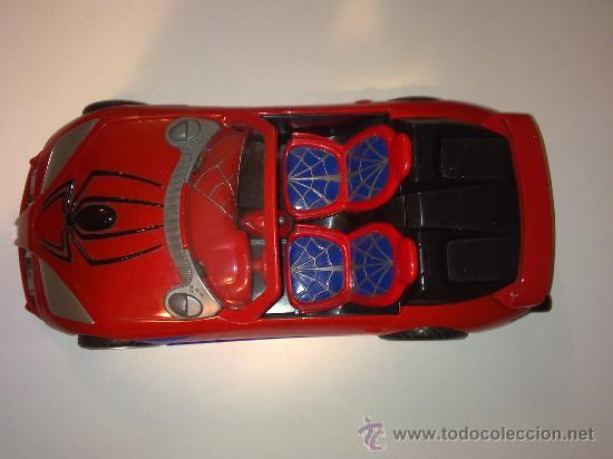 Figuras y Muñecos Marvel: SUPER SPIDERCAR.COCHE GIGANTE CON SU CAJA ORIGINAL de 42 CM. - Foto 9 - 27842289