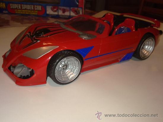 Figuras y Muñecos Marvel: SUPER SPIDERCAR.COCHE GIGANTE CON SU CAJA ORIGINAL de 42 CM. - Foto 10 - 27842289