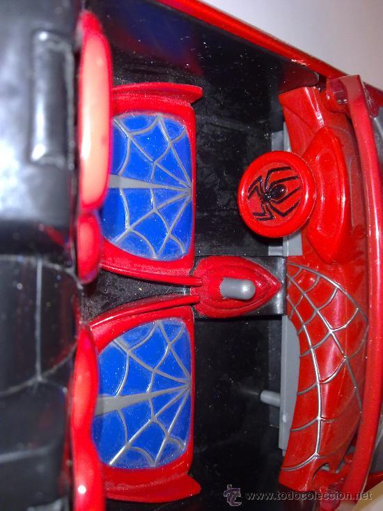 Figuras y Muñecos Marvel: SUPER SPIDERCAR.COCHE GIGANTE CON SU CAJA ORIGINAL de 42 CM. - Foto 11 - 27842289