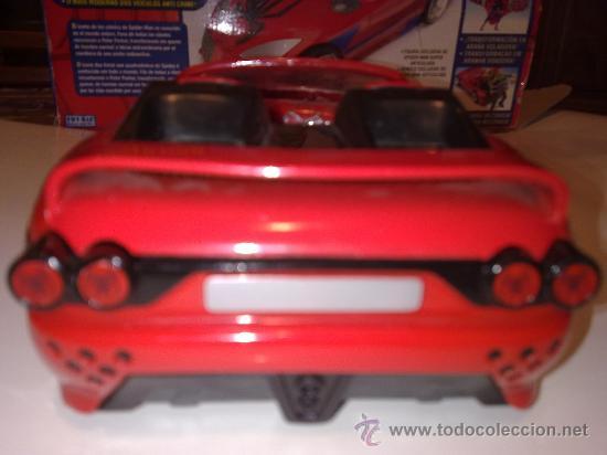 Figuras y Muñecos Marvel: SUPER SPIDERCAR.COCHE GIGANTE CON SU CAJA ORIGINAL de 42 CM. - Foto 12 - 27842289