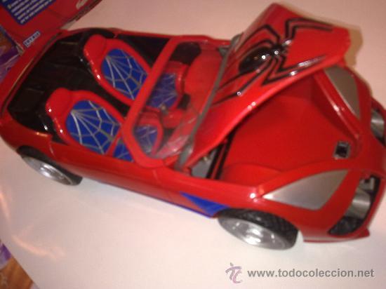 Figuras y Muñecos Marvel: SUPER SPIDERCAR.COCHE GIGANTE CON SU CAJA ORIGINAL de 42 CM. - Foto 15 - 27842289