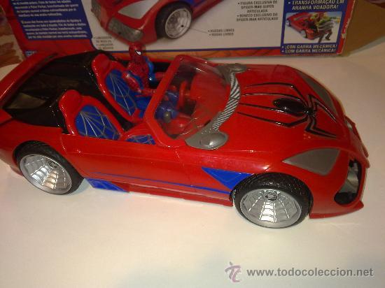Figuras y Muñecos Marvel: SUPER SPIDERCAR.COCHE GIGANTE CON SU CAJA ORIGINAL de 42 CM. - Foto 18 - 27842289