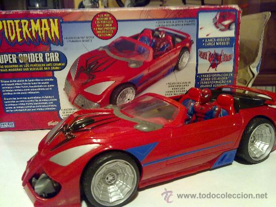 Figuras y Muñecos Marvel: SUPER SPIDERCAR.COCHE GIGANTE CON SU CAJA ORIGINAL de 42 CM. - Foto 20 - 27842289