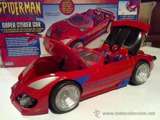 Figuras y Muñecos Marvel: SUPER SPIDERCAR.COCHE GIGANTE CON SU CAJA ORIGINAL de 42 CM. - Foto 21 - 27842289