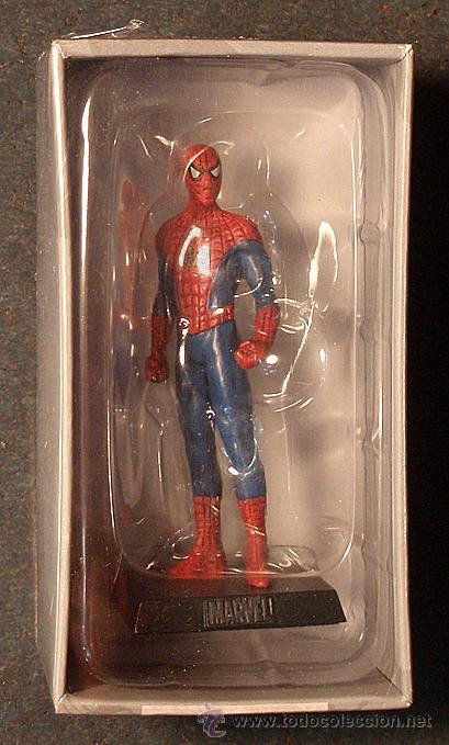 Figura en plomo de spiderman el hombre ara a comprar for Figuras marvel altaya