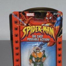 Figuras y Muñecos Marvel: FIGURA METALICA MARVEL EN SU BLISTER , SERIE SPIDER-MAN ( DR. OCTOPUS ) AÑO 2002 . . Lote 29097125