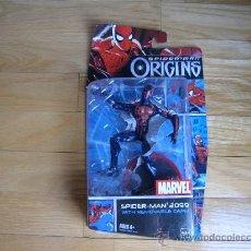 Figuras y Muñecos Marvel: FIGURA DE ACCIÓN SPIDERMAN 2099 - MARVEL - SPIDERMAN ORIGINS - BLISTER ORIGINAL NUEVO SPIDER-MAN. Lote 29238521