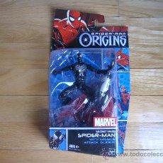 Figuras y Muñecos Marvel: FIGURA DE ACCIÓN SPIDERMAN SECRET WARS - MARVEL - SPIDERMAN ORIGINS BLISTER ORIGINAL NEW SPIDER-MAN. Lote 29238535