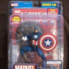 Figuras y Muñecos Marvel: FIGURA MARVEL LEGENDS CLASSIC CAPITAN AMERICA (CAPTAIN AMERICA) EN BLISTER. Lote 29288947