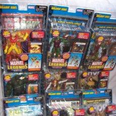 Figuras y Muñecos Marvel: MARVEL ONSLAUGHT SERIES COMPLETA - COLECCIÓN 9 FIGURAS - NUEVAS - PRECINTADAS - TODAS CON COMIC. Lote 29722158