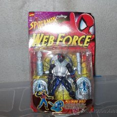 Figuras y Muñecos Marvel: SPIDERMAN-SPIDER MAN-WEB FORCE-WEB SWAMP SPIDEY-TOY BIZ-MARVEL. Lote 30017238